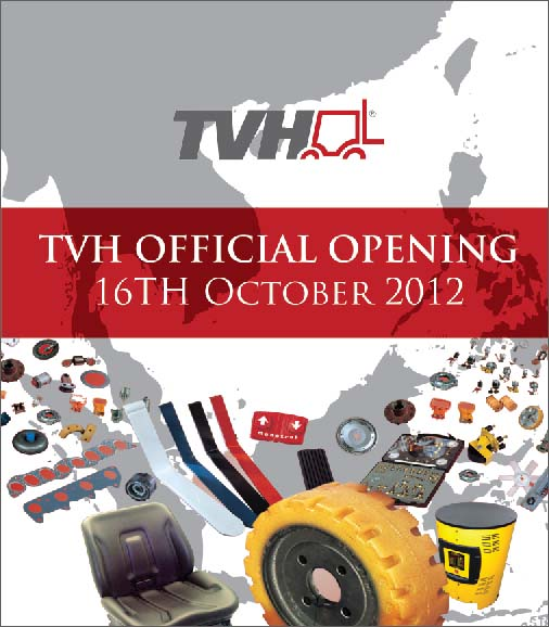 Poster design for TVH official opening