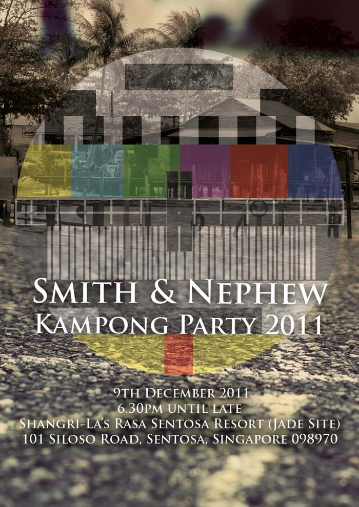 Poster design for Smith & Nephew D&D party