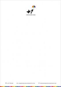 letterhead design for never ending ideas