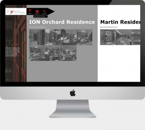 Website design project for a photographer