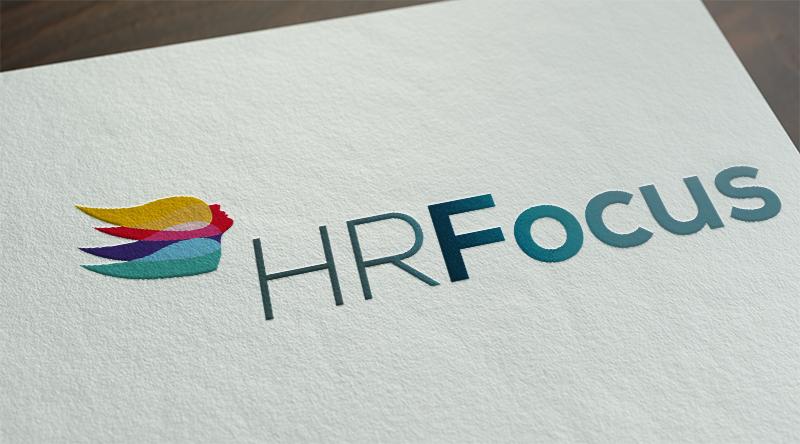 HR Focus logo design