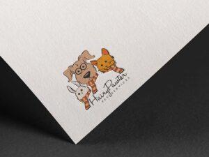 Logo design for pet grooming singapore freelance designer