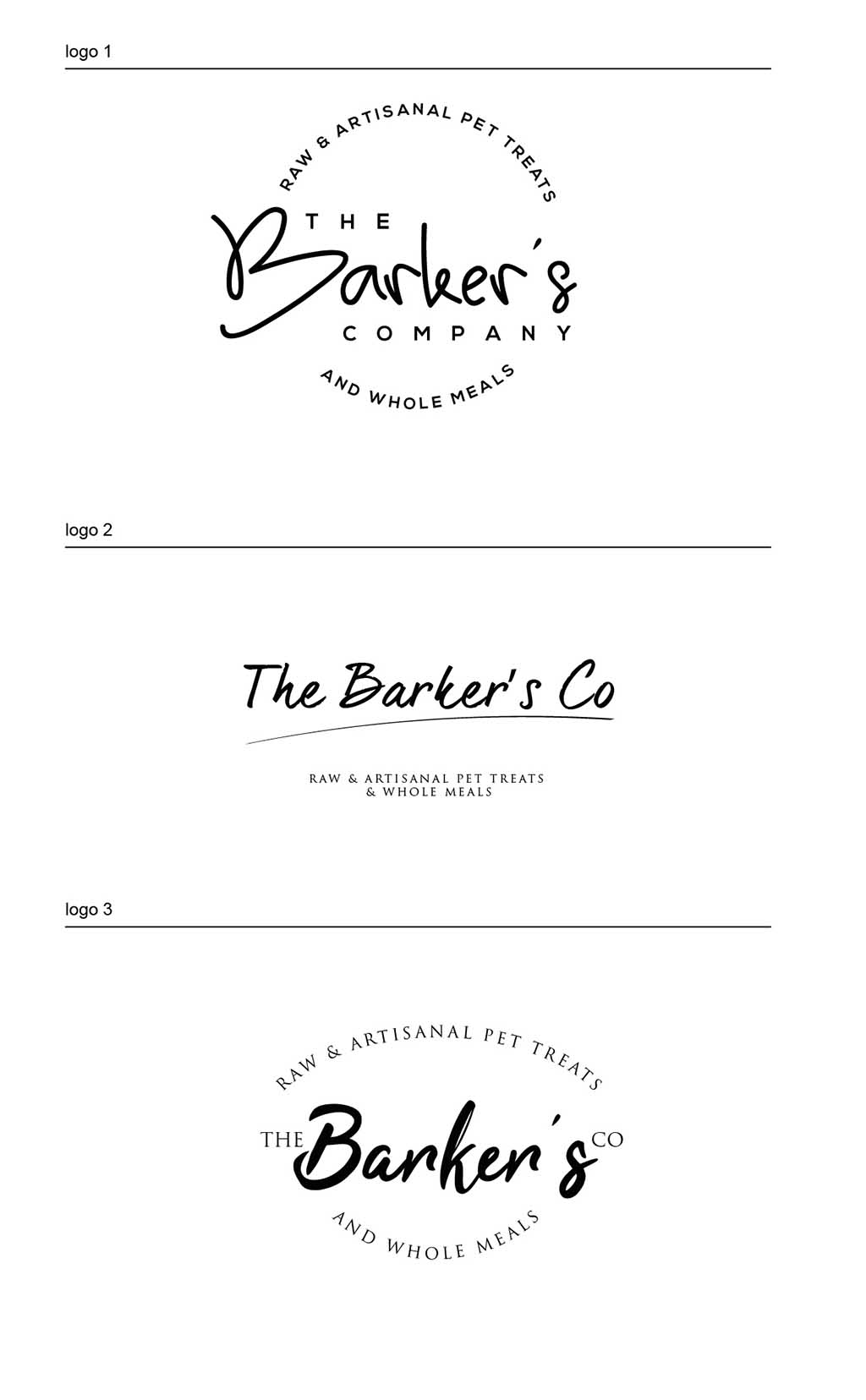 Logo design design process