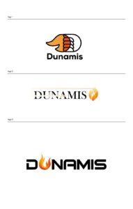 logo design mock up for church camp event
