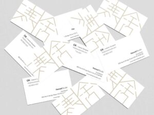 namecard design for hansel singapore freelance designer