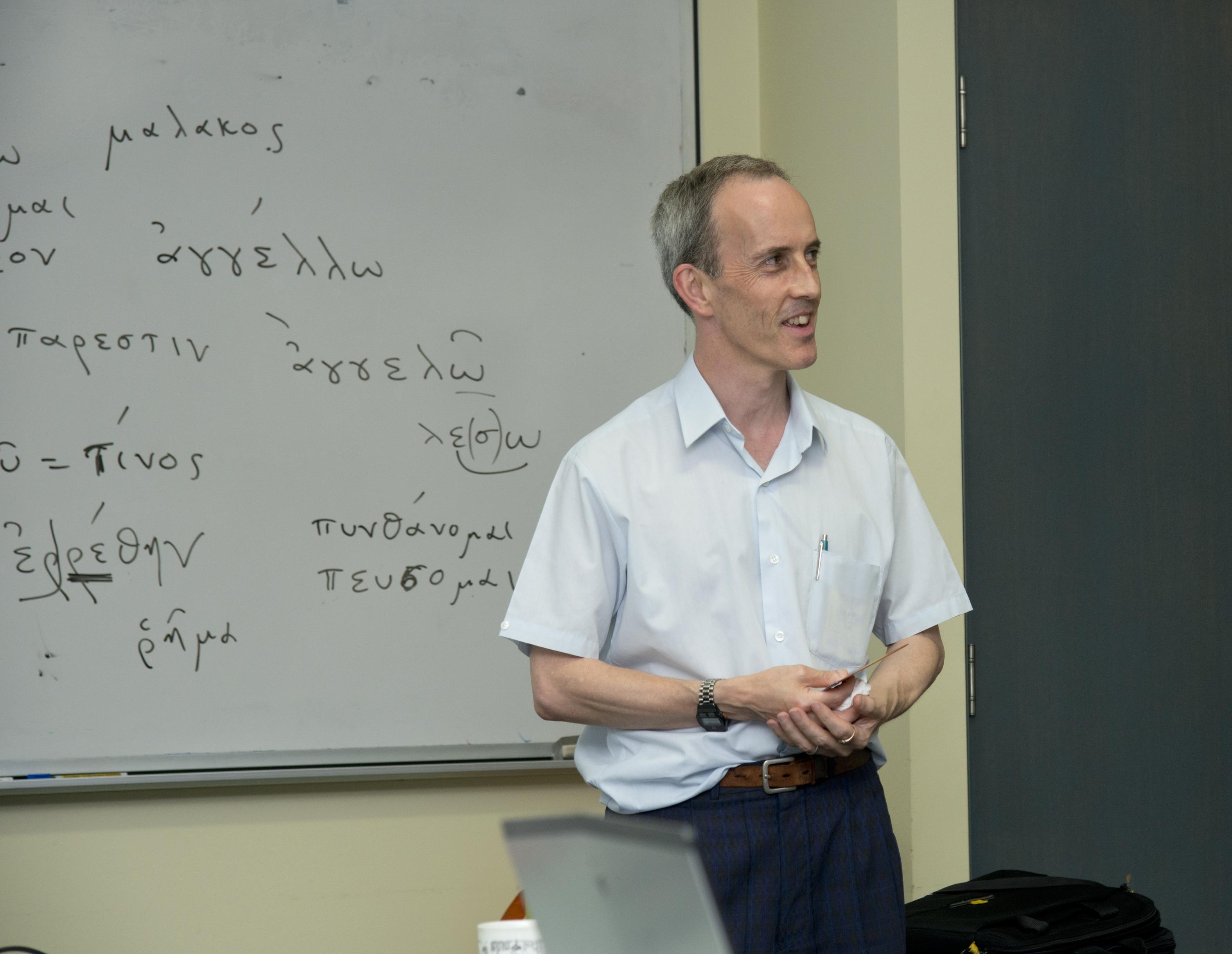Paul Reisner, MALS tutor since 1986!