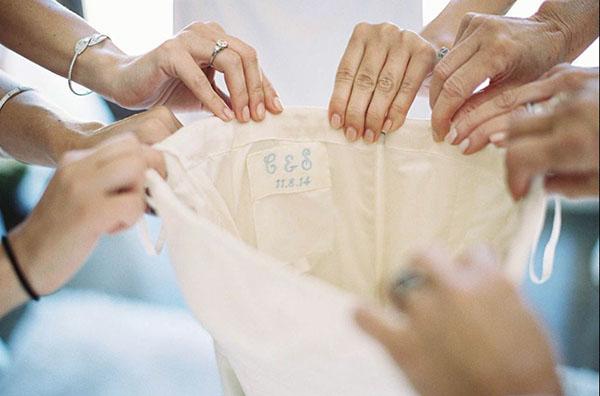 inside of dress
