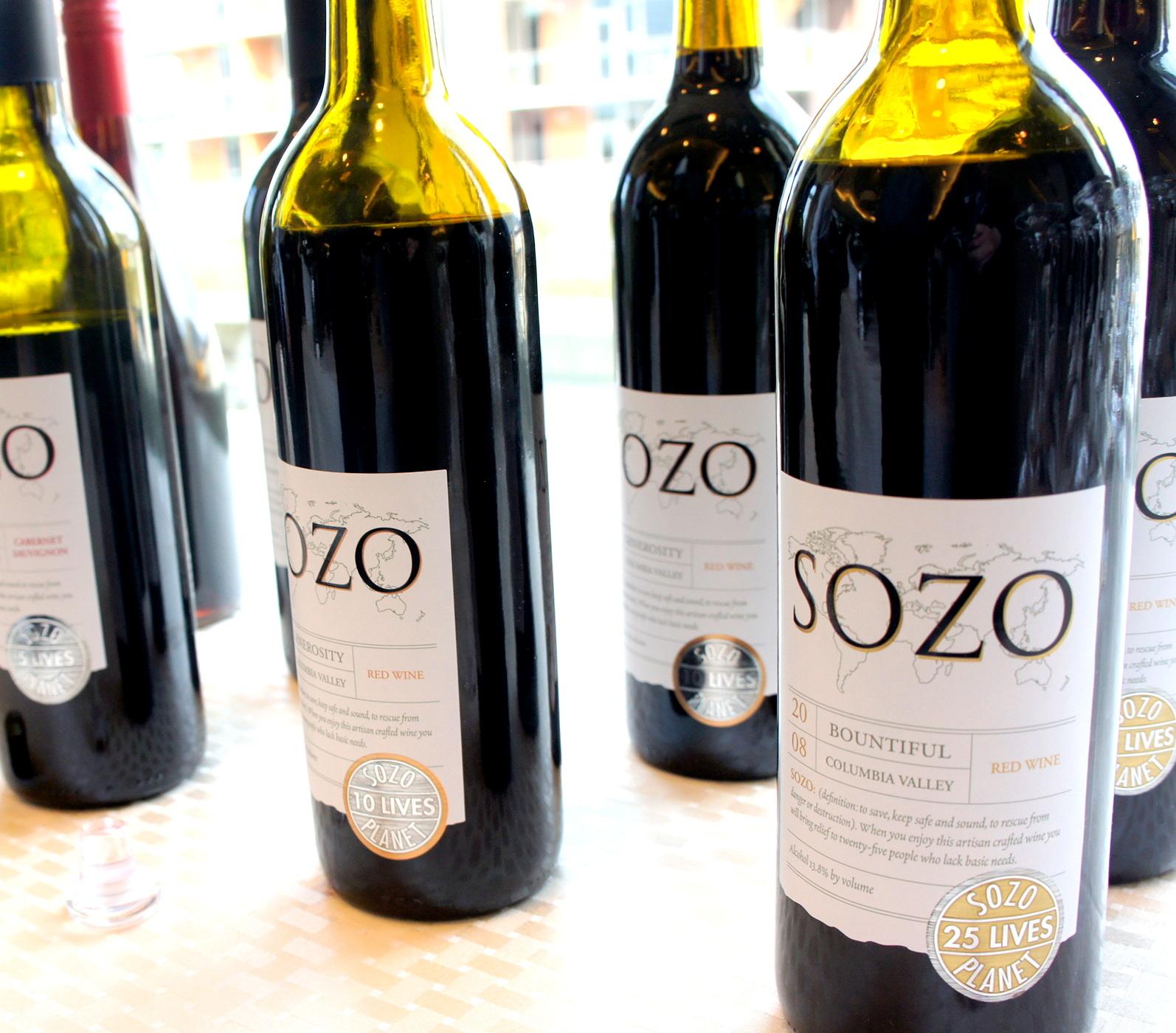 Sozo bottles
