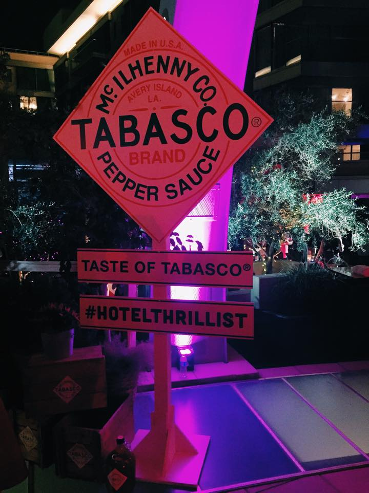 TABASCO chocolate fountain