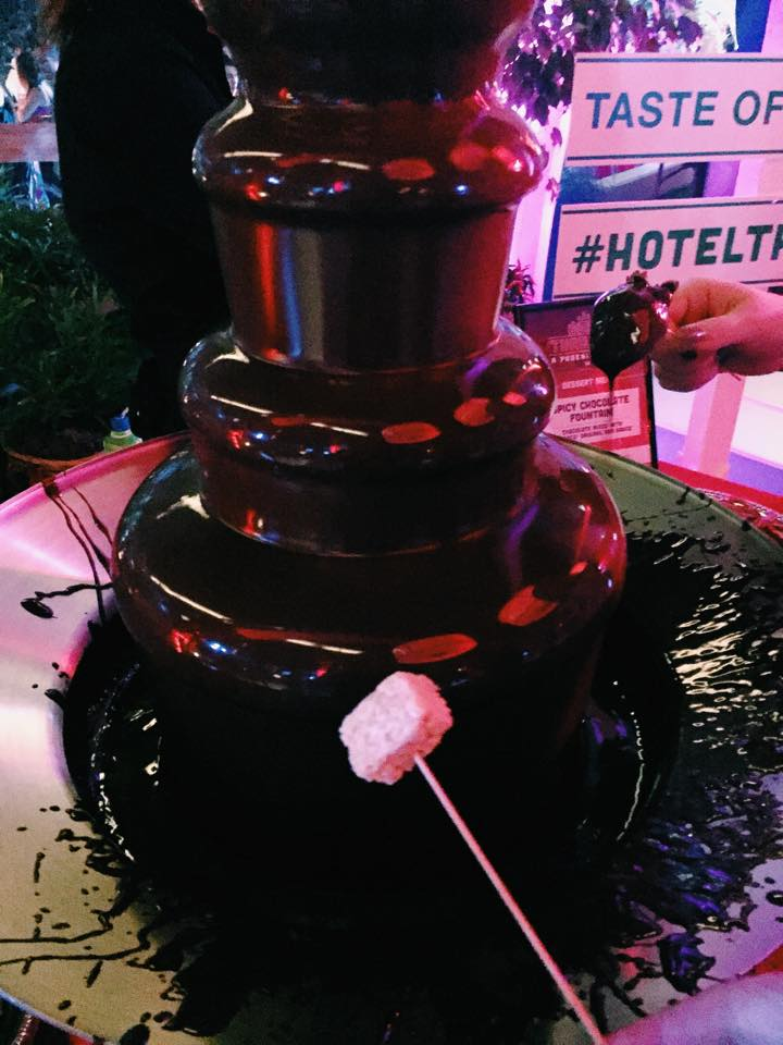Tobasco Chocolate Fountain