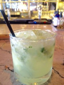 Gordons Cup: Gin, Mint, Lime, and the love of a good bartender.