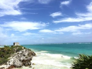 tulum beach w temple