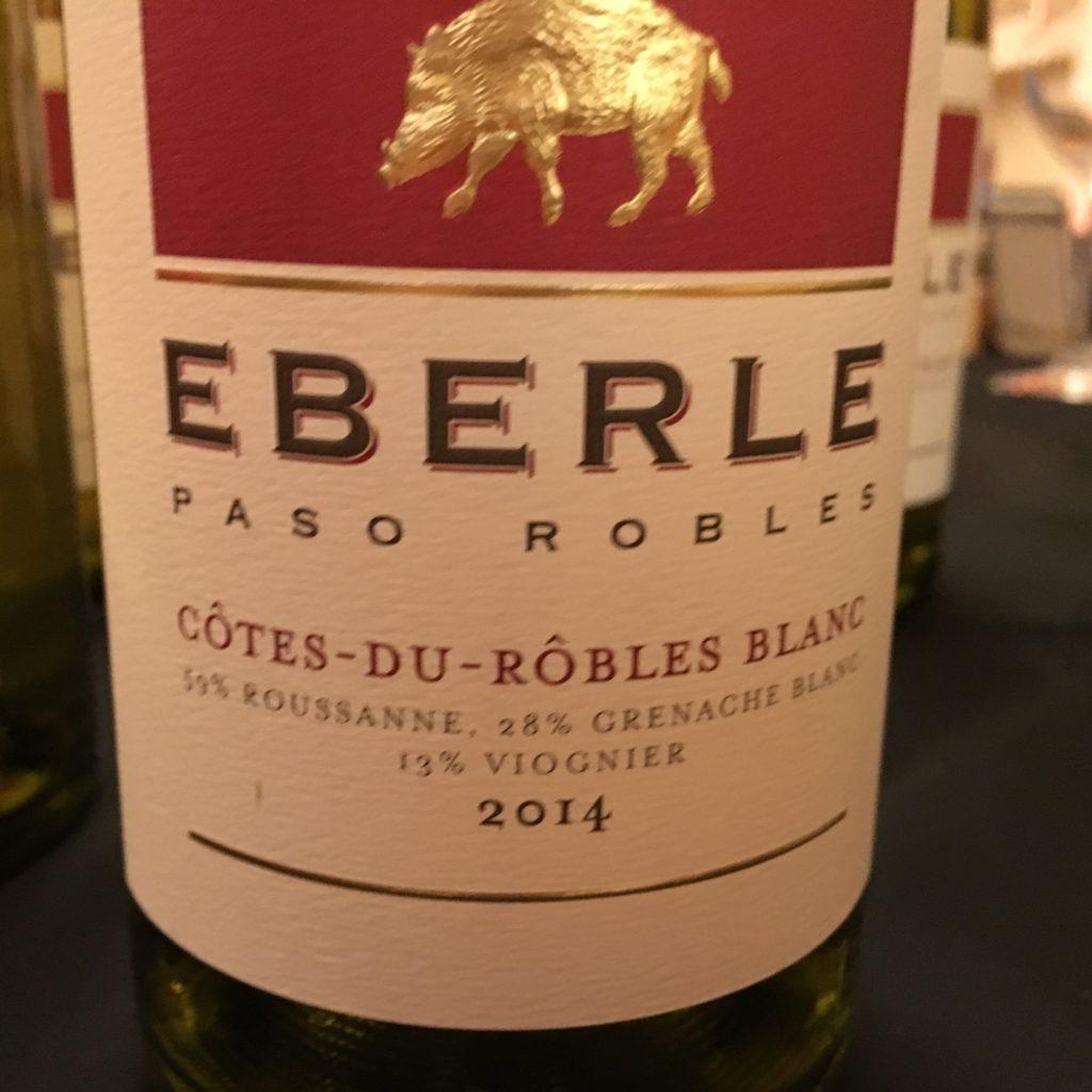 Eberle White Rhone