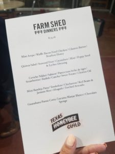 foodie, farm shed dinner, pacha chefs, tres dallas, dallas farmers market