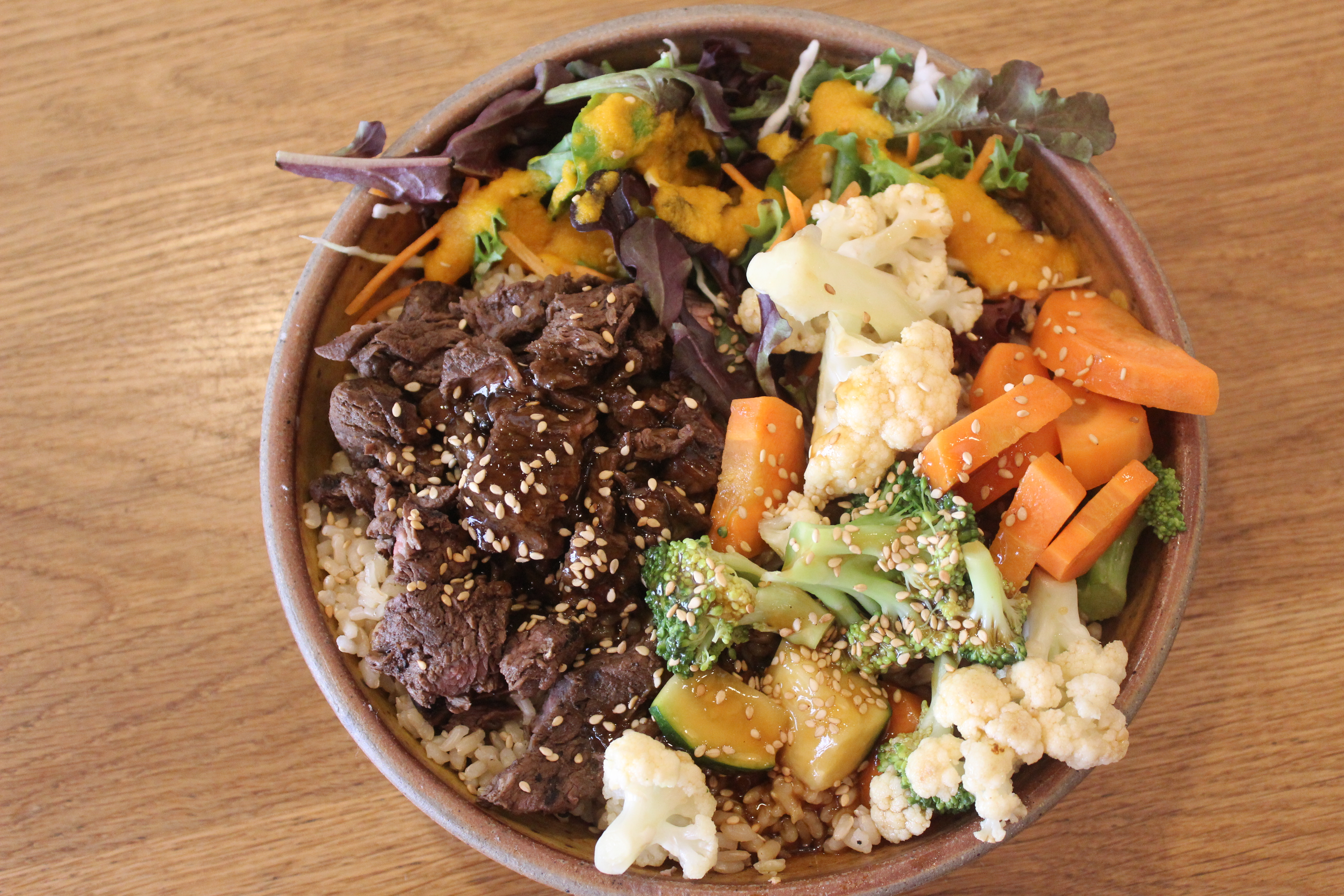 Steak and Vegetable Combo