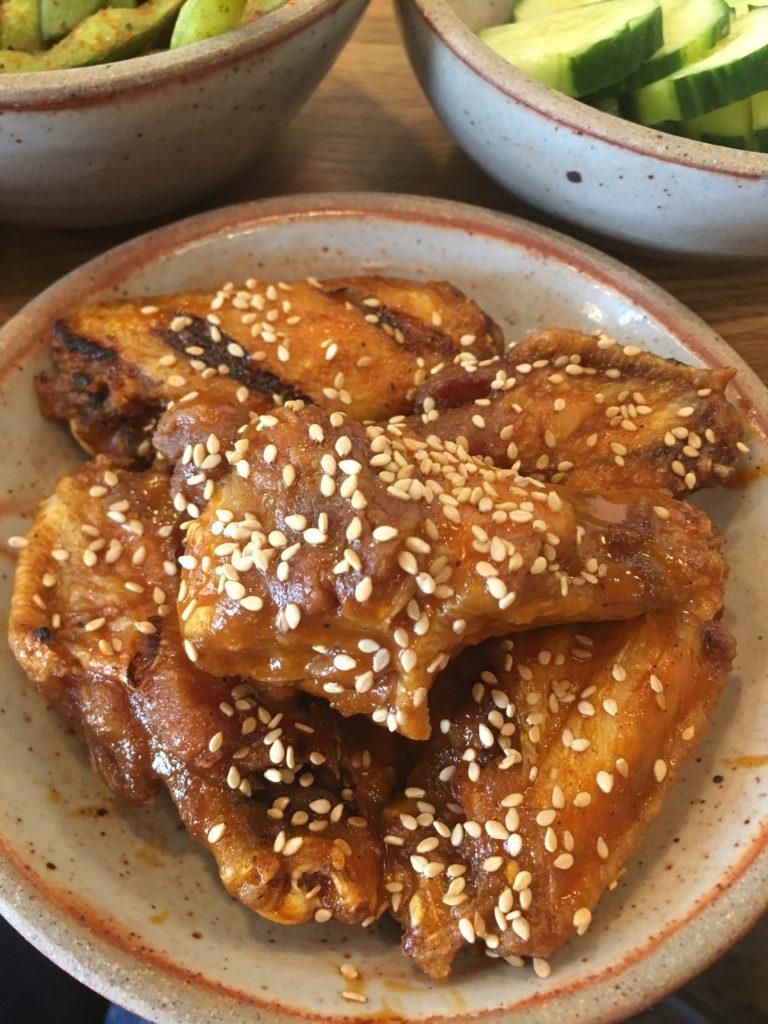 Spicy-Yaki Chicken Wings