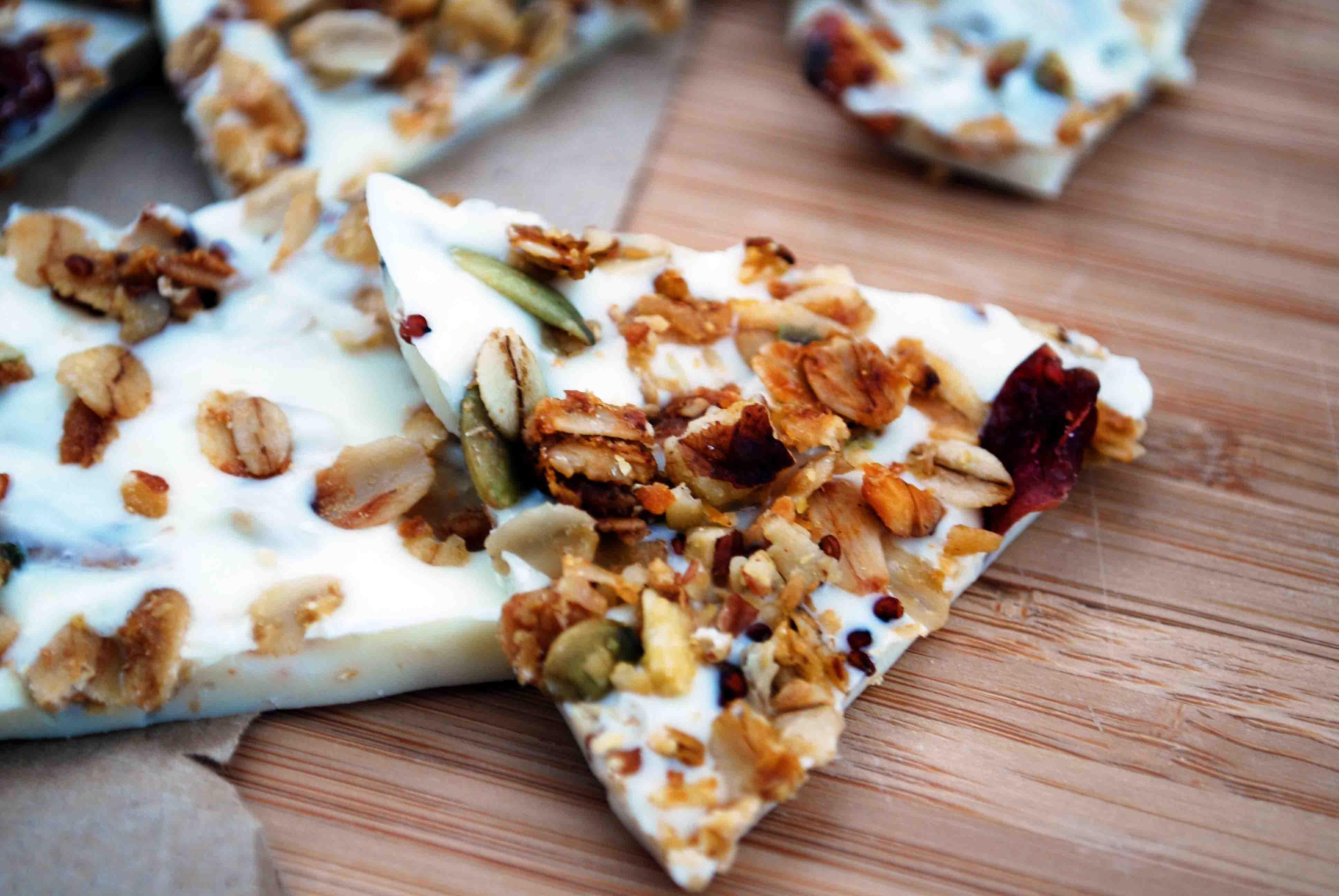 White Chocolate Granola Bark - All Granola