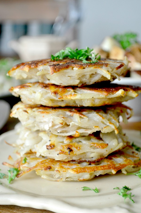 vegan potato pancakes