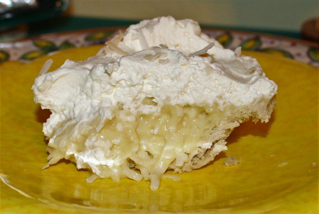 coconut cream pie, pi day