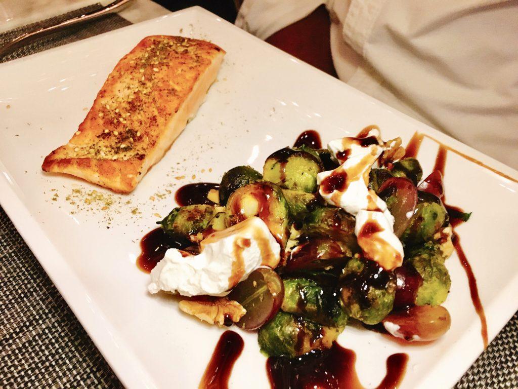 salmon - Lebanese Food - Dallas -Zatar Dallas