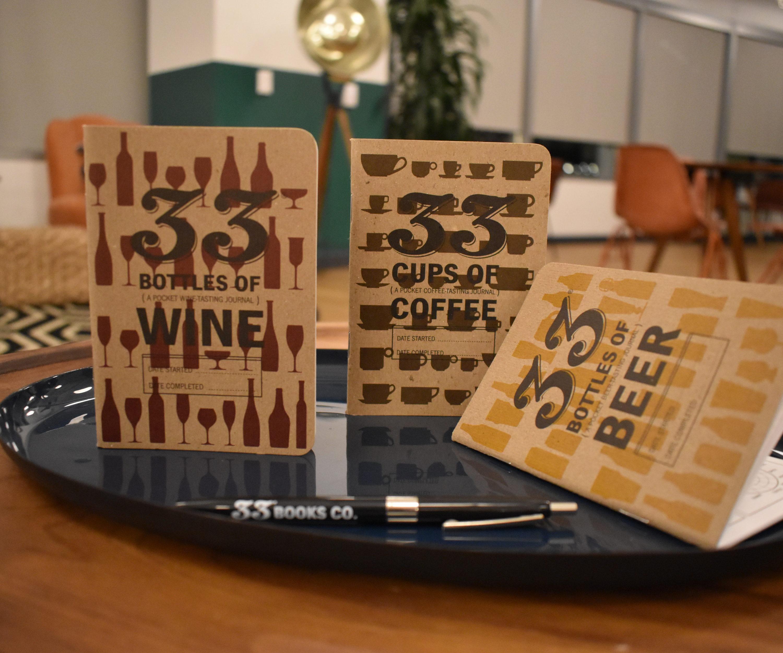 Beer, wine, coffee