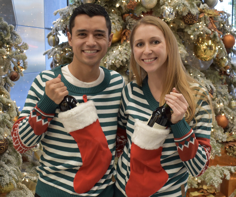 Christmas Accessories, Sweaters, Christmas Stockings, Wine