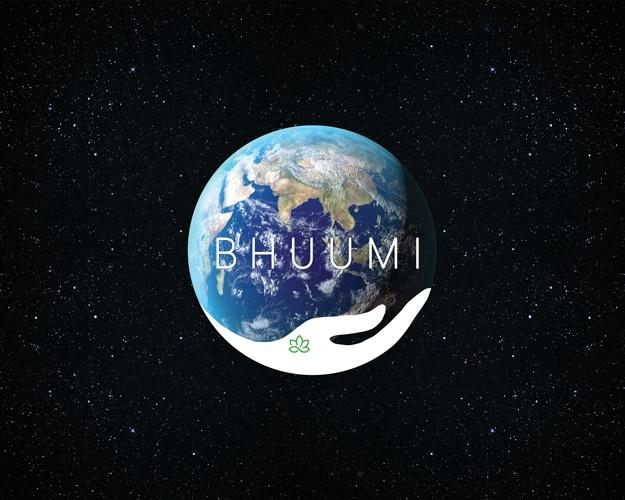 Branding, creative, logo, design, Bhuumi, earth, backdrop