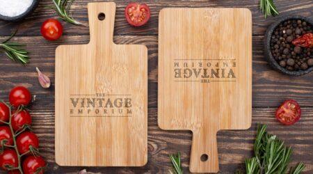 Logo, Branding, Creative, Vintage, design, Emporium, Kitchen, restaurant