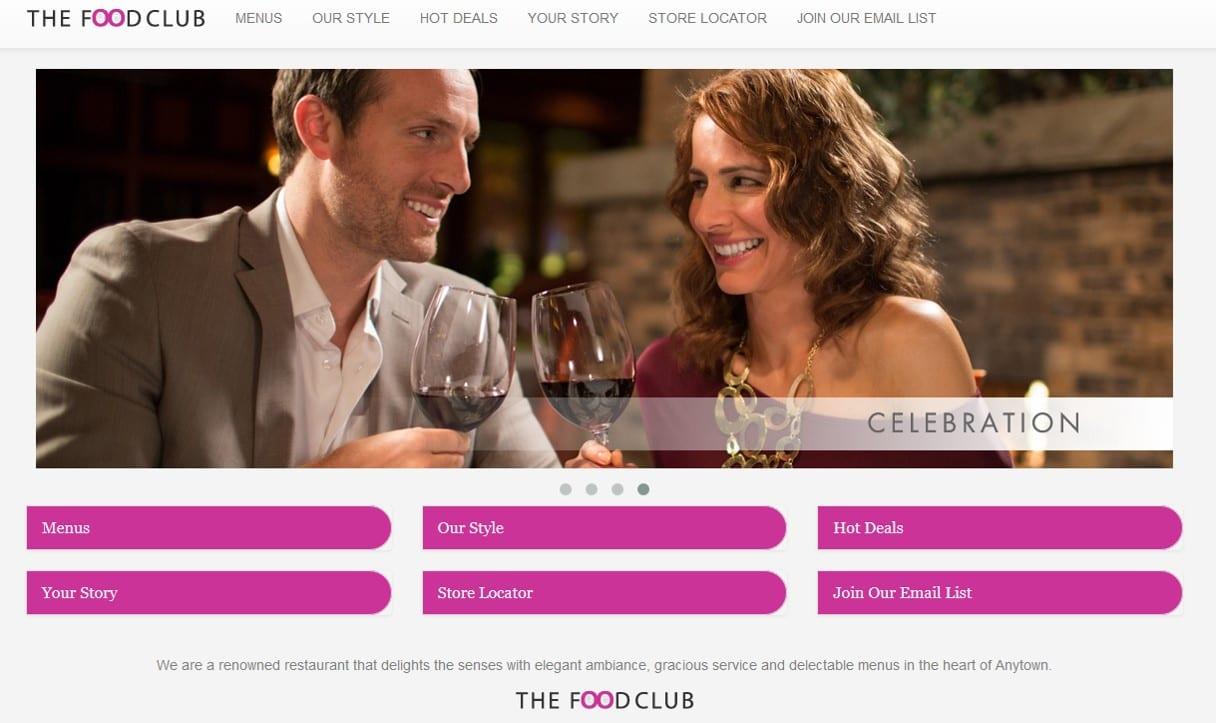 Premium Restaurant Websites