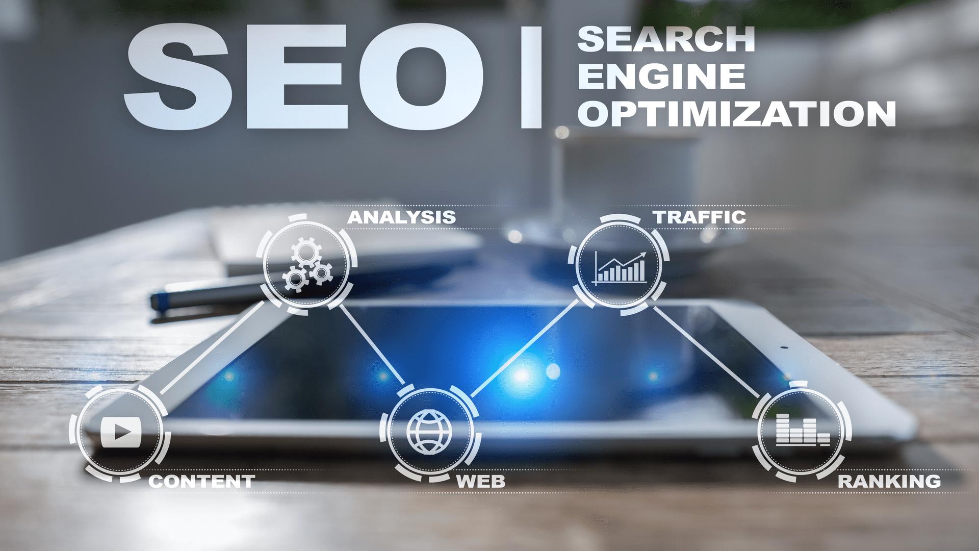 Webdesign, SEO, iMarketing Engagement Image - Search Engine Optimization