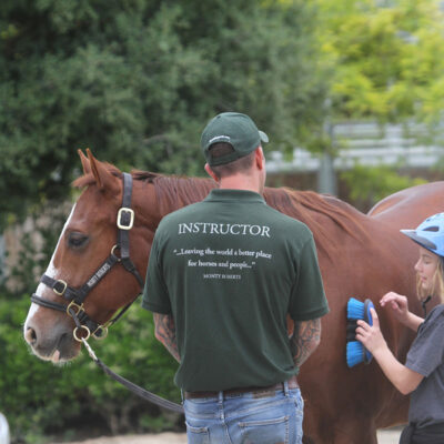 Monty Roberts' Lead-Up youth development program - creating peaceful leaders for the future