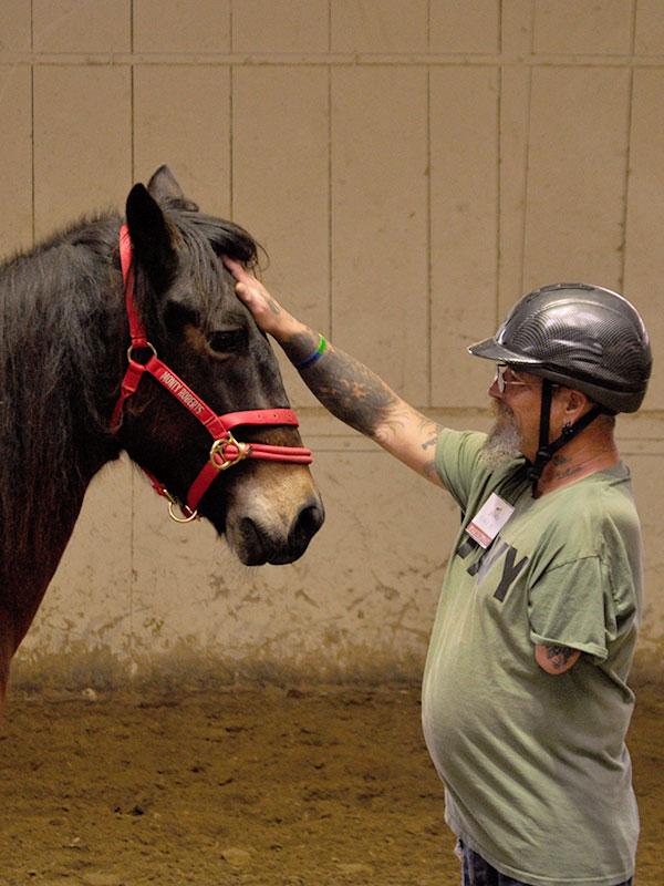 Monty Roberts Horse Sense & Healing with Veterans
