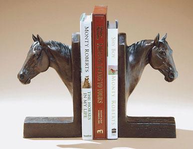 Pat Roberts Sculpture - Johnny Tivio & Julia's Doll Bookends