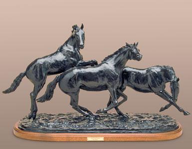 Pat Roberts Sculpture - Equus in Flight
