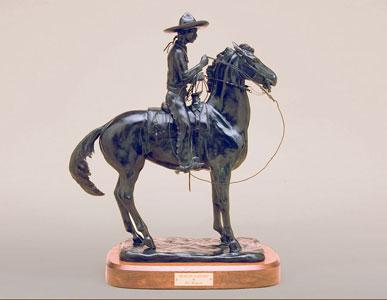 Pat Roberts Sculpture - Mexican Vaquero