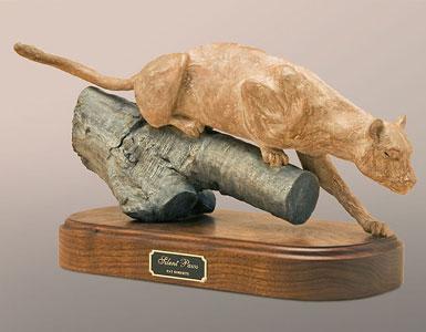 Pat Roberts Sculpture - Silent Paws