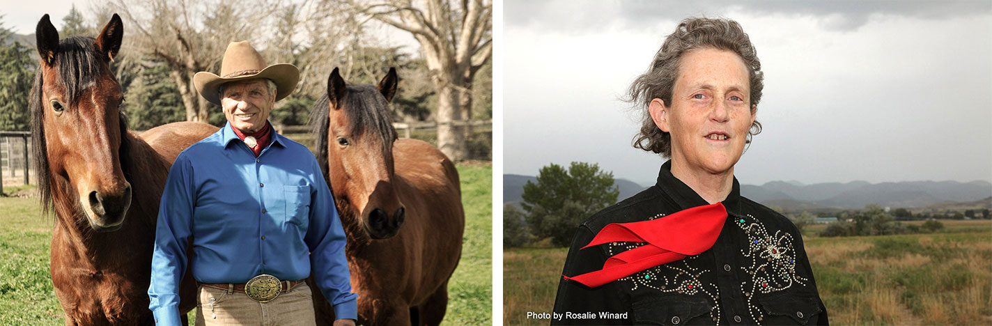 Monty Roberts and Dr Temple Grandin - presenting live online at The Movement 2020