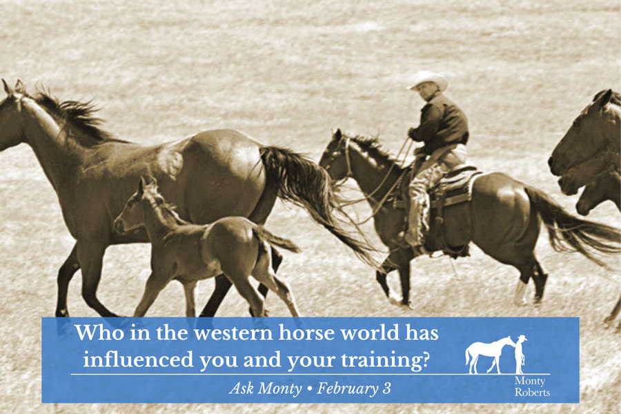 Ask Monty - Who in the western world has influenced you and your training
