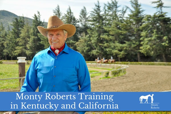 Monty Roberts Training in Kentucky and California