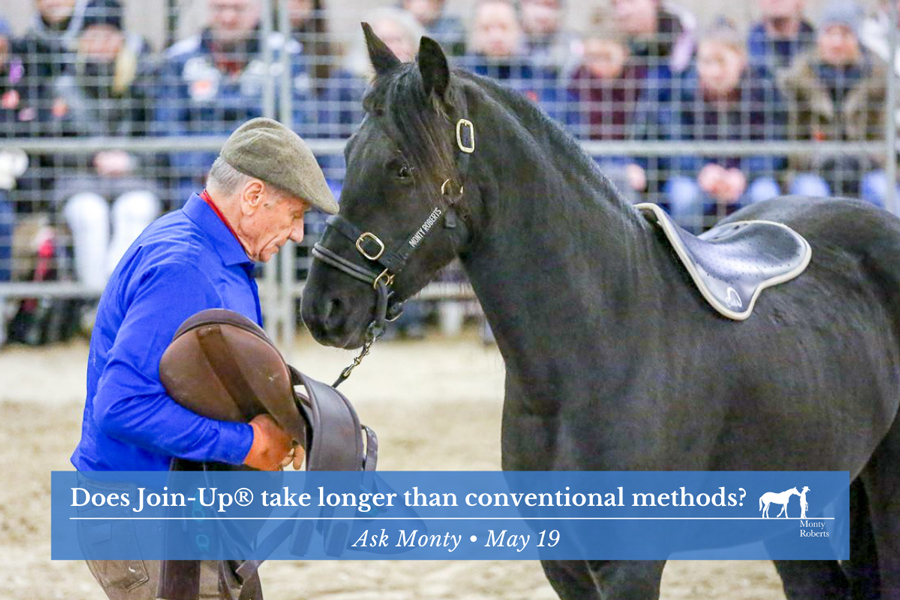 Ask Monty - Does Join-Up® take longer than conventional methods?