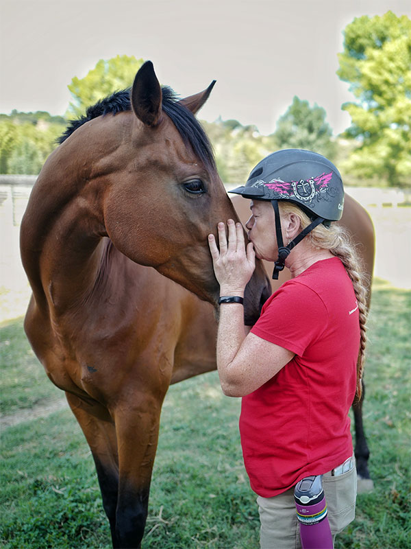 Monty Roberts Join-Up at Horse Sense & Healing - violence-free training with willing partnership