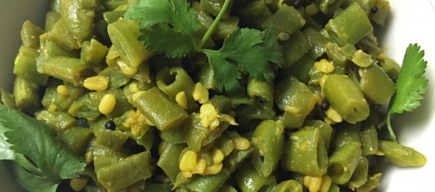 Stir Fry Flat Beans