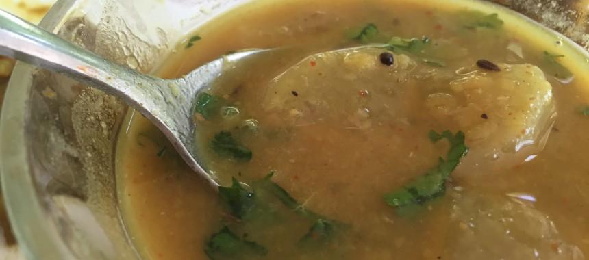Mulyachi Amti Recipe (Dal with radish)