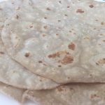 Gavasani Recipe (Rice and Wheat Roti)