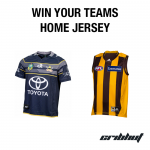 Win Your Favourite Team's Home Jersey!