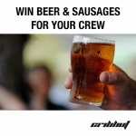 Win Beer & Sausages For Your Crew