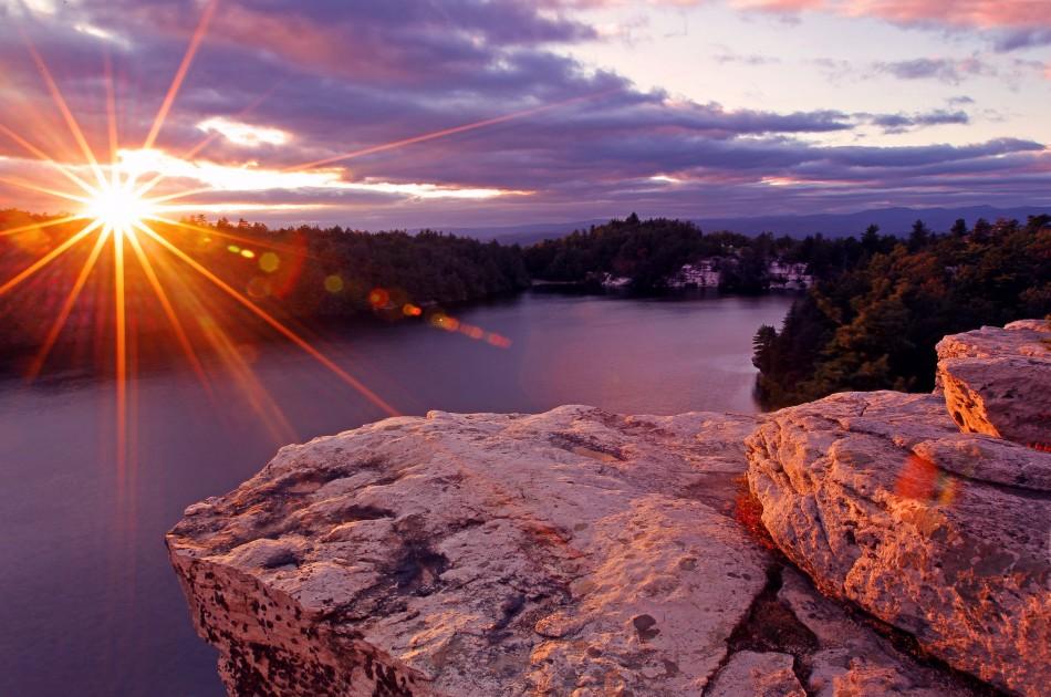 minnewaska sunset - danny wild