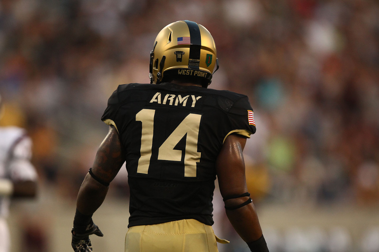 Sep 4, 2015; West Point, NY, USA; The Army Black Knights hosted the Fordham Rams in their season opener at Michie Stadium. Credit: Danny Wild/Army West Point