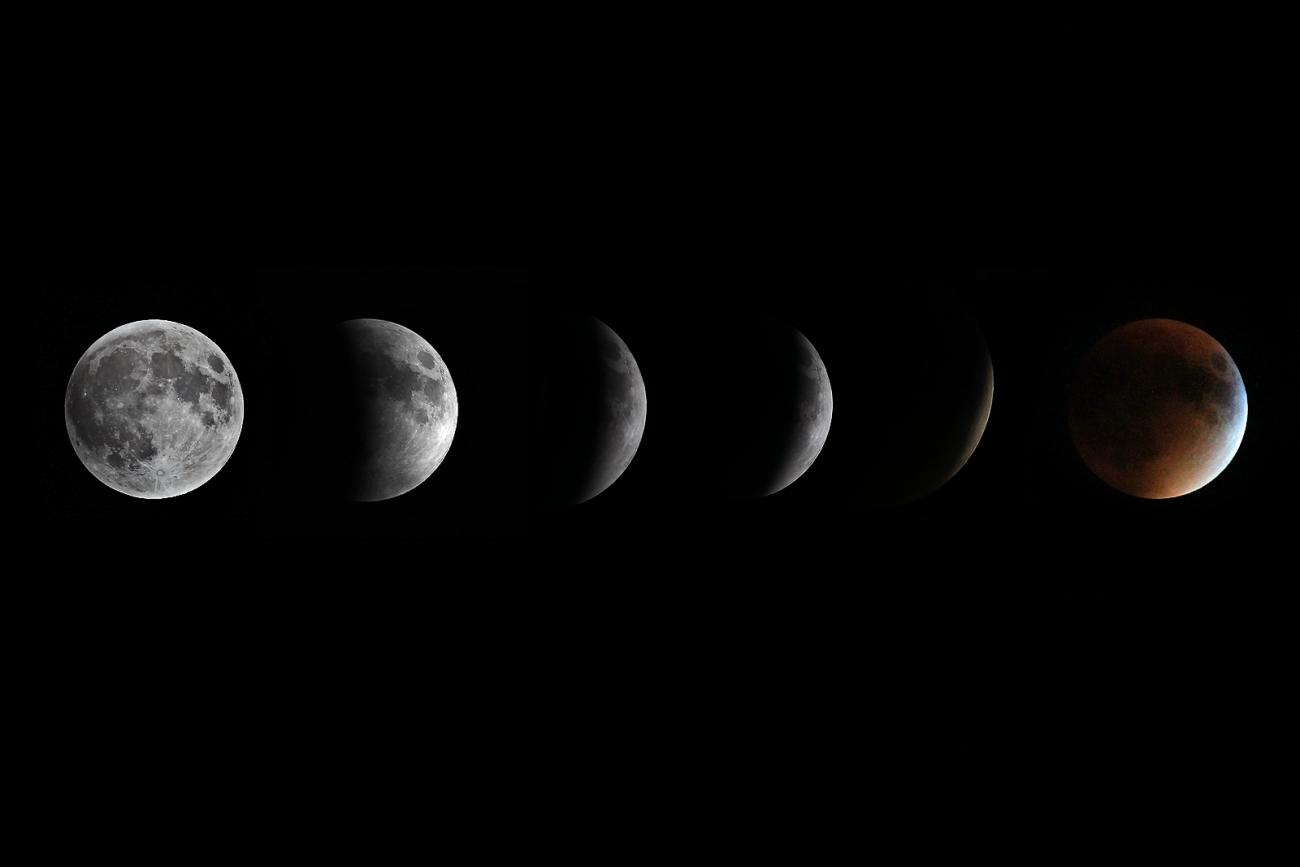 Super Blood moon eclipse 2015