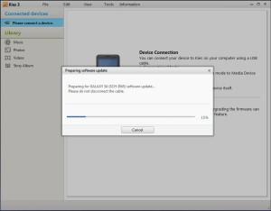 Kies Download firmware